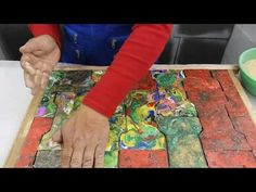 como hacer baldosas de plástico fundido video No 18 - YouTube Stencils, Videos, Projects, Diy, Painting, Youtube, Decor, Recycling, Bottles