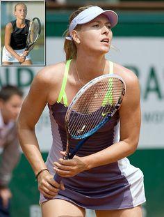 Maria Sharapova.  You've come a long way beautiful lady!!!