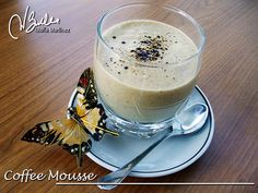 Coffe Mousse, Dukan diet (Attack phase) Ingredients: 1 sachet unflavoured powdered gelatine (Knox),  8 oz fat free greek yogurt (250 grams),  8 oz fat free cream cheese (250 grams), 1 tablespoon instant coffee, 4 egg whites, a pinch of salt, sweetener to taste