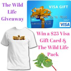 The Wild Life Giveaway--  ends 9/9/16