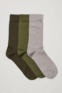 COS   Three pairs of socks