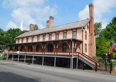 The Chester Inn (now museum) in Jonesborough, TN. Built in 1797 by Dr. William Chester.