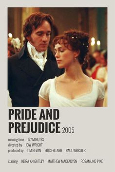Iconic Movie Posters, Iconic Movies, Everything Film, Film Recommendations, Image Deco, Pride And Prejudice 2005, Movie Prints, Minimal Poster, Alternative Movie Posters