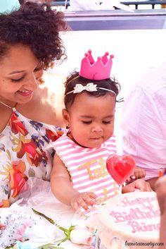 Ariah's First Birthday - Tamera Mowry