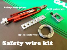 Safety Wire kit!  Our Price: $79.95 cafe racer brat style rat bike motorcycle