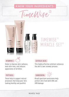 It's what inside that counts! Our TimeWise® Miracle Set® combines innovative skin care technology with proven-effective ingredients to deliver the real results you want. | Mary Kay