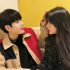 something special ♡ Mode Ulzzang, Korean Ulzzang, Ulzzang Girl, Cute Couples Goals, Couples In Love, Couple Goals, Korean Couple, Best Couple, Cute Korean