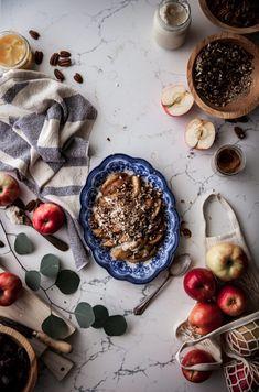 Deconstructed Dutch Apple Pie(no added sugar)