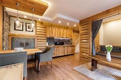 Willa Tatiana - cztery luksusowe wille w centrum Zakopanego Cabana, Nespresso, Divider, Boutique, Table, Room, Furniture, Home Decor, Bedroom
