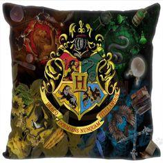 Hogwarts Crest Badge Pillow