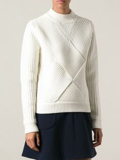 Carven Structured Knit Sweater - Twentyone St. Johns Wood - Farfetch.com
