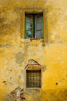Yellow Wall and Windows