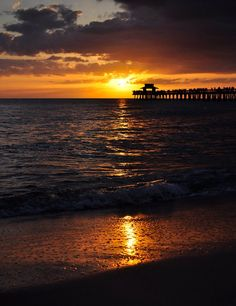 Sunset ~ Naples, Florida
