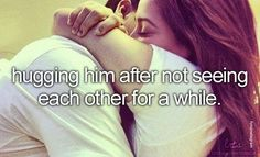 This is the most amazing feeling any girl can feel after hugging the guy she likes, its so great. You feel safe and happy. Trust me you wont wanna let go of that guyy