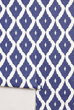 Coursing Ikat Wallpaper | ANTHROPOLOGIE | GREAT FOR A POWDER ROOM