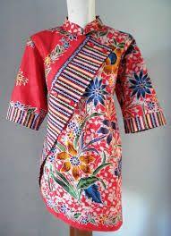 Blouse Batik, Batik Dress, Blouse Patterns, Blouse Designs, Mode Batik, Batik Kebaya, Myanmar Traditional Dress, Batik Fashion, Ethnic Looks