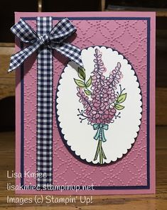 Personal blog of Lisa Kmiec, Stampin' Up! Demonstrator