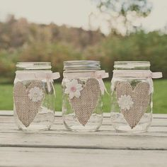 Mason Jars And Burlap Wedding Ideas Burlap Mason Jar Wedding Centerpiece Burlap By Stylejarsandcans Mason Jar And Burlap Wedding Diy Mason Jars With Burlap And Lace Pot Mason Diy, Burlap Mason Jars, Wedding Centerpieces Mason Jars, Wedding Vases, Wedding Gifts, Wedding Decorations, Wedding Ideas, Chalk Paint Mason Jars, Painted Mason Jars