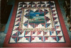 LOG CABIN  QUILT              PC