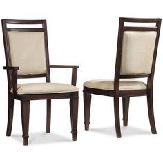 Hooker Furniture Set of 2 Ludlow Upholstered Back Side Chair 1030-76510