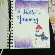 Here are some of my favourite January bullet journal cover page ideas to inspire you to get 2019 off to a creative start! Journal D'inspiration, Journal Prompts, Art Journal Pages, Journal Ideas, Journal Themes, Journals, January Bullet Journal, Bullet Journal Cover Page, Bullet Journal Inspo