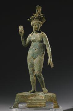 A Roman Bronze Figure of Isis-Aphrodite, Syria, Circa 2nd Century A.D.