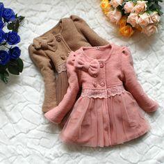 kız kat yeni 2013 sonbahar kış elbise ceket çocuk giyim bebek sıcak yün karışımı ceket kız çocuk giyim çocuk giyim