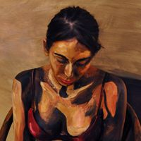 Alexa Meade's artwork...outstanding! That is a real person painted to look as if in a painting.