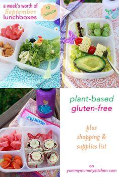 Healthy Kids Lunchbox Ideas on Yummy Mummy Kitchen