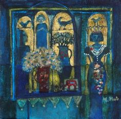 Something Blue by Morag Muir Painting Gallery, Figure It Out, Something Blue, Mixed Media Art, Lapis Lazuli, Still Life, Street Art, Sculptures, Artsy