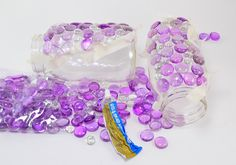 Aleene's Glue Products | Craft & DIY Project Adhesives| Glittering Gem Mason Jars Lights