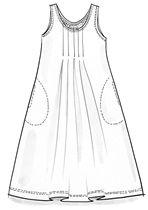 Ekopuuvillamekko – Kukkivia painokuviota – GUDRUN SJÖDÉN - vaatteita verkossa ja postimyynnissä
