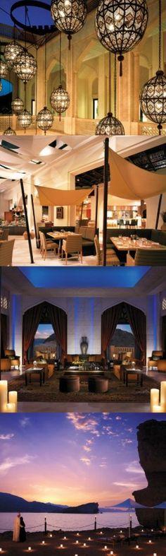 Shangri-La, At Barr Al Jissah Resort & Spa, Sultanate of Oman.