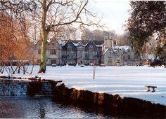 Bibury Court Hotel - Bibury - Near Cirencester - Gloucestershire - postcard…