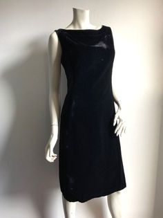 d144127ed3c ... LBD Holiday Black Velvet Sheath Dress sz 4 6 60s  NinaRicci   ALineDressSheathDressLittleBlackDress1960sPartyDressHolidayCocktailDress   PartyCocktail