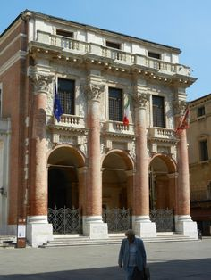 Loggia del Capitaniato - Vicenza, Italy -  designed by Andrea Palladio in 1565 and built between 1571 and 1572