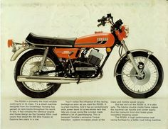 My first motorcycle                                YAMAHA RD350 Sonho de consumo
