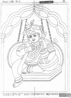 I drew this Mysore Painting, Kerala Mural Painting, Indian Art Paintings, Madhubani Painting, Ganesha Painting, Ganesha Art, Krishna Art, Glass Painting Designs, Paint Designs
