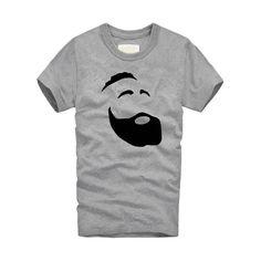 f0458a63 ... T-shirt Men Tops Tees Original Funny. Ahmed Kamal · Supreme · James  Harden beard printed Tees
