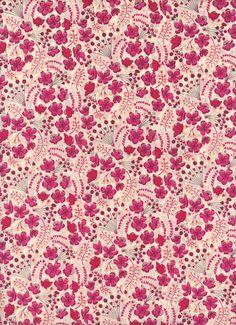 Liberty of London tana lawn fabric Sarahs Secret by MissElany, $4.75