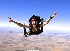Today I am a free fall pirate!