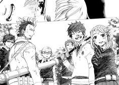 Okumura Rin, Okumura Yukio, Kamiki Izumo, Official Art, Miwa Konekomaru, Suguro Ryuji, Shima Renzou, Moriyama Shiemi