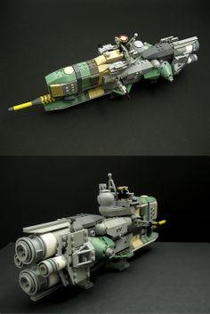 "Rogue Space Marche: cruiser ""Rebander"""