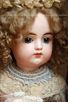 Антикварная кукла Gaultier Франция