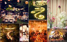 sfeerbeeld --> bloemen tussen lampionnen!!!