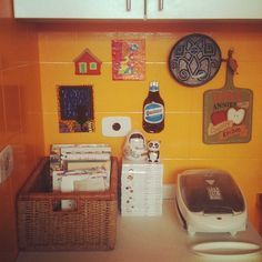 cozinha laranja, cozinha amarela, cozinah colorida, yellow kitchen, orange kitchen, colorfull kitchen, funy kitchen