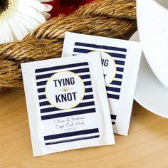 100+ Unique and Cheap Wedding Favor Ideas Under $2 » Personalized Wedding Tea Bag Favors