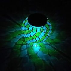 Amazon.com: Customer Reviews: GLISTENY Glass Ball Lamp Solar Lights Color Changing LED Night Light Mosaic Waterproof For Indoor or Outdoor Decorations Party Patio Lawn Garden Broken Mirage