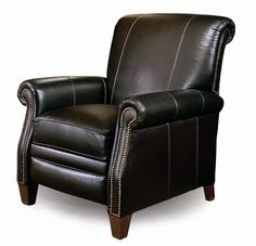 704 High Leg Pressback Recliner by Smith Brothers