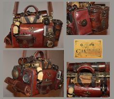 New steampunk bag by Cirdann72